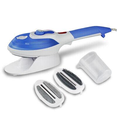 Blau Tragbare Handheld Garment Steamer Reise Bügeleisen Steamer Dampfbürste