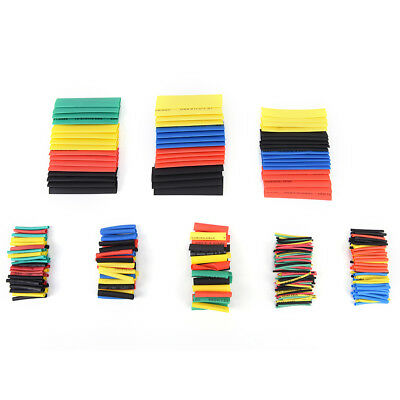530pcs 21heat Shrink Tube Tubing Sleeving Wrap Wire Assorted Kit 5 Color-8 Size