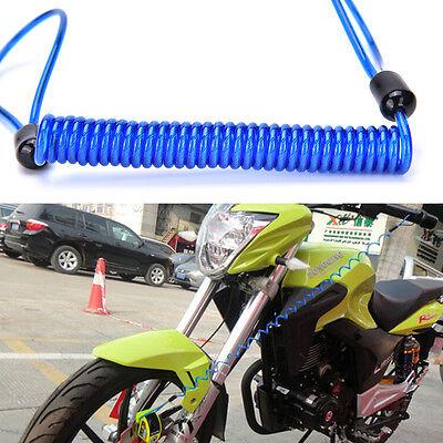 Motorrad Fahrrad Roller Alarm Disc Lock Sicherheit Frühling Erinnerung Kabel  AP ()