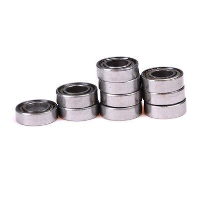 10x 688zz Miniature Ball Bearings Metal Double Shielded Ball Bearing 8x16x5mm Jk