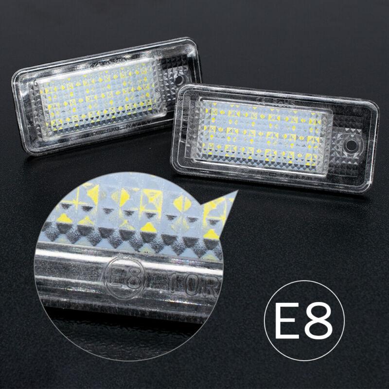 Auto LED Kennzeichenbeleuchtung Für AUDI A6 A4 B6 B7 Limousine   Cabrio   Avant