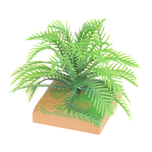 2pcs Dollhouse Garden Micro Landscape Mini Bush Trees Green Sand table model FF