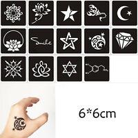 1 Sheet Black Flower Henna Stencil Body Art Temporary Tattoo Sticker Paper Niuk - unbranded - ebay.co.uk