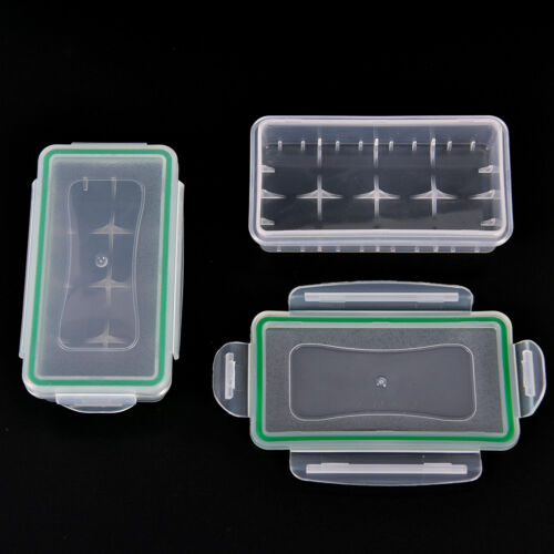 Plastic Waterproof Battery Holder Storage Boxes Case for 18650/18350 Battery JKP