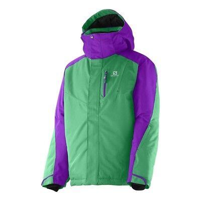Junior Snowboard Bekleidung (Salomon INCLINE Junior Jacket, Jungen Ski Snowboard Jacke Gr.140 TOP *NEU + OVP*)