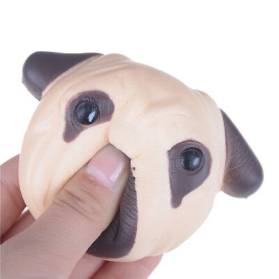 Anti stress ball Pug Dog Mini Squeeze Squishy Toy Slow Rising kids adults toy VN