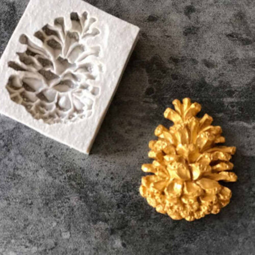 Pinecone Sugarcraft Silicone mold fondant mold cake decorating tools chocolateYC