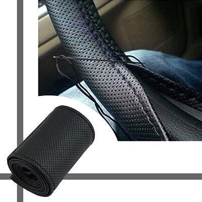 Coprivolante in pelle per camion auto con aghi e fil JzS Ah