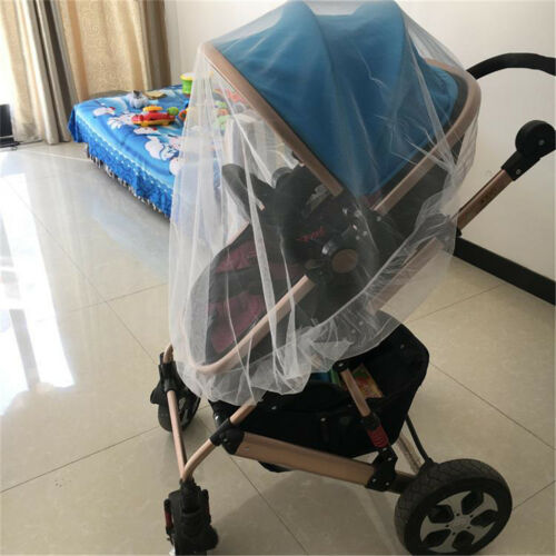 Newborn Infant Baby Stroller Crip Net Pushchair Mosquito Insect Net Safe Mesh XR - $9.62