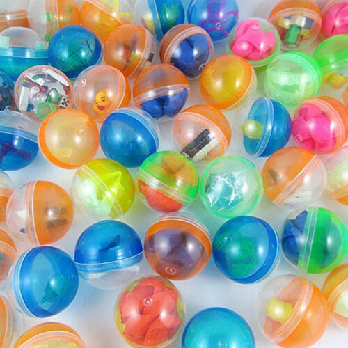 10x 45mm plastic balls capsules toys with different small toy vending machine