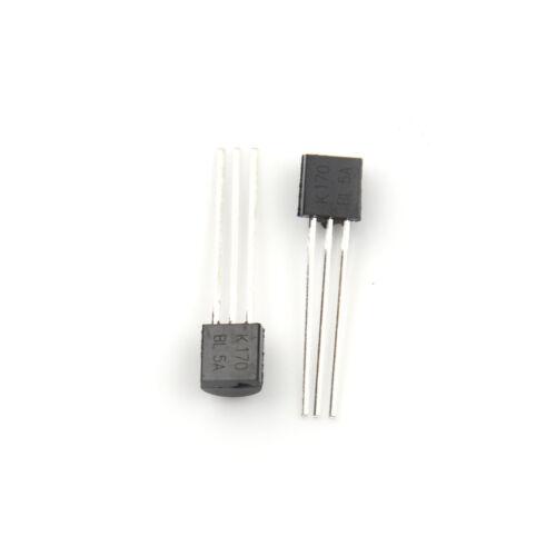 5pcs 2SK170-BL K170BL 2SK170 3 Pins DIP Original TOSHIBA FET LE