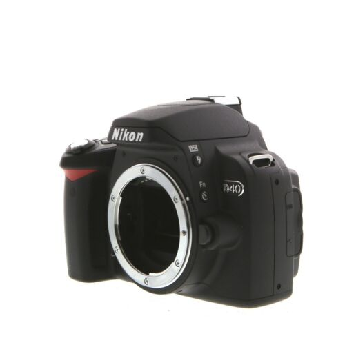 как выглядит Nikon D40 6.1MP Digital SLR Camera Body Only фото