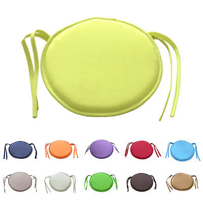 Indoor Dining Garden Patio Home Office Kitchen Round Chair Seat Pads Cushion BSC ()