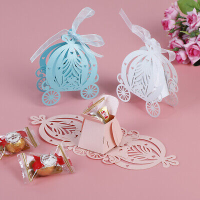 kin Carriage Wedding Candy Box Baby Shower Birthday Gift UE (Baby Candy)