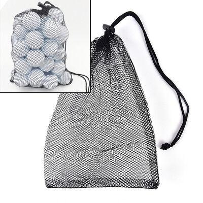 Nylon Mesh Nets Bag Pouch Golf Balls Table Tennis Hold Ball Holder Storage Ba PR