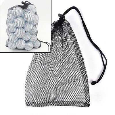Nylon Mesh Nets Bag Pouch Golf Balls Table Tennis Hold Balls