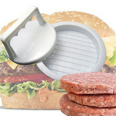 Burger Press Hamburger Meat Beef Grill Cooking Maker Kitchen Mold NEW Plastic US