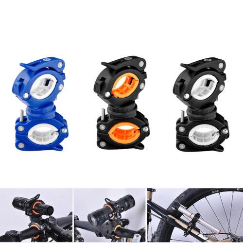 360 ° Fahrradlicht Taschenlampe LED Taschenlampe Halterung Befestigungsclip Zz