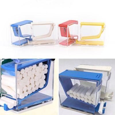 Dental Dentist Push Style Cotton Roll Roller Dispenser Holder Press Type