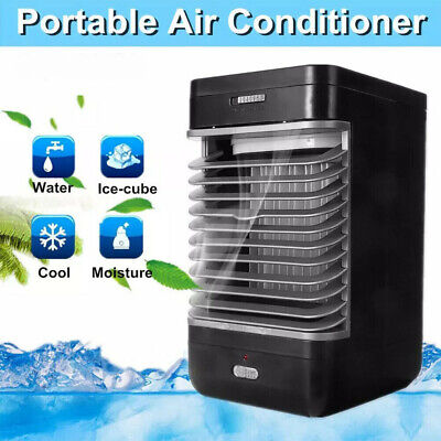 Mini Air Cooler Fan Cooling Portable Conditioner Humidifier Purifier UK PLUG