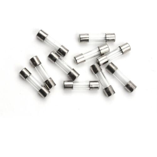 10PCS Glass Tube Fuse 5 x 20mm F315mA 315mA F0.315A 250V Fast Blow RDR