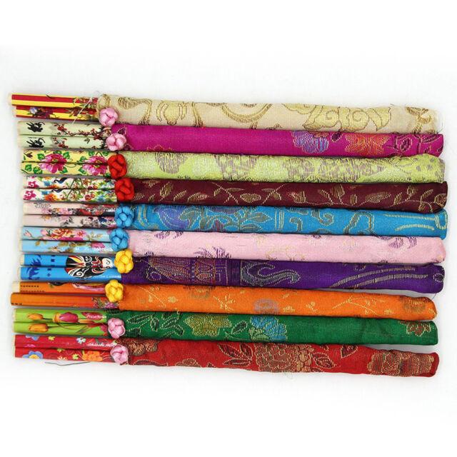 10 Pairs Classic Design Chinese Chopsticks Wedding Gift Present Dinner Set DSUK