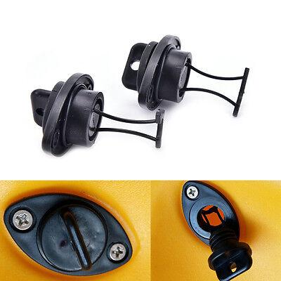 2pcs/set universal drain plug kit plugs bung for dinghy kayak canoes boat RDFJ