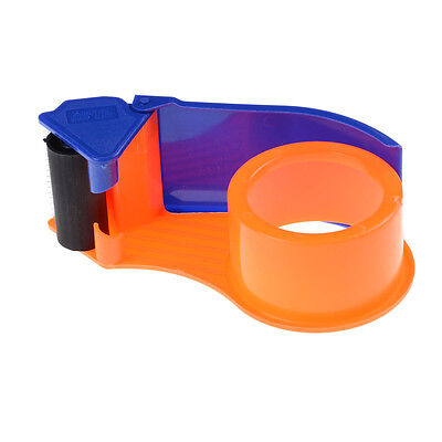 "Sealing Packaging Parcel Plastic Roller 2"" Width Tape Cutter Dispenser  G1HWC"