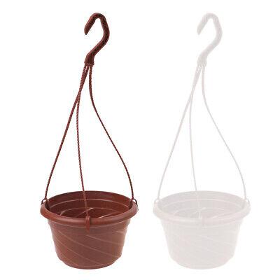 Hanging Flower Plant Pot Chain Basket Planter Holder Home (Planter Pot Holder)