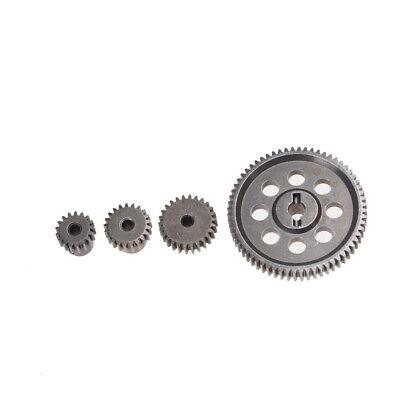 11184 Steel Metal Spur Diff Differential Main Gear 64T Motor Pinion Gears Xed (Metal Pinion Gear)