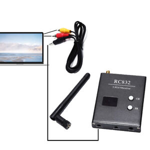 5.8GHz 48CH RC832 Receiver Aerial Photography Audio Video AV Wireless PR