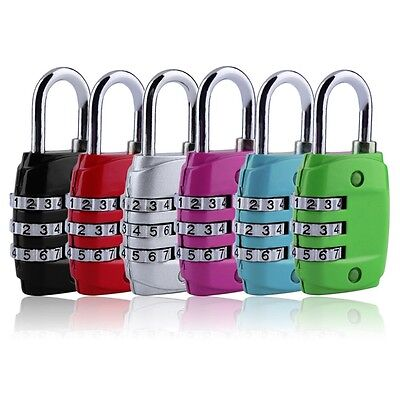 Zink Kombination (Zinklegierung Sicherheit 3 Kombination Reise Koffer Gepäck Code Lock VorhäTPI)