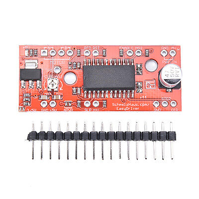 A3967 Easy Driver Shield Stepper Motor Driver Module V44 For Arduino 3d Prin Z