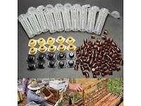 2Pcs Queen Bee Larvae Retractable Grafting Tool Beekeeping Rearing Supplies  /_IJ