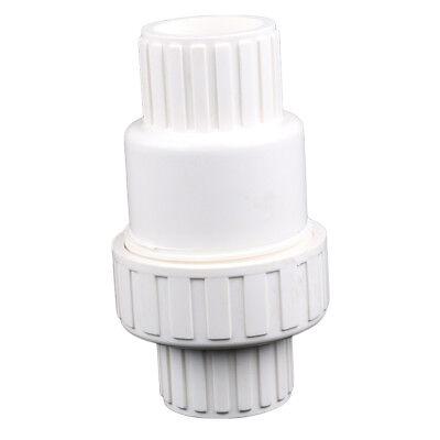 1 Pc 12 Inch Pvc Durable One-way Mini Ball Check Valve For Aquarium Ice Machine