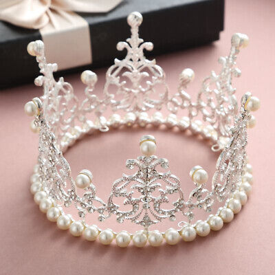 Crown For Cake (Crown Cake Topper Headband Crown for Party Wedding Charming Delicate)
