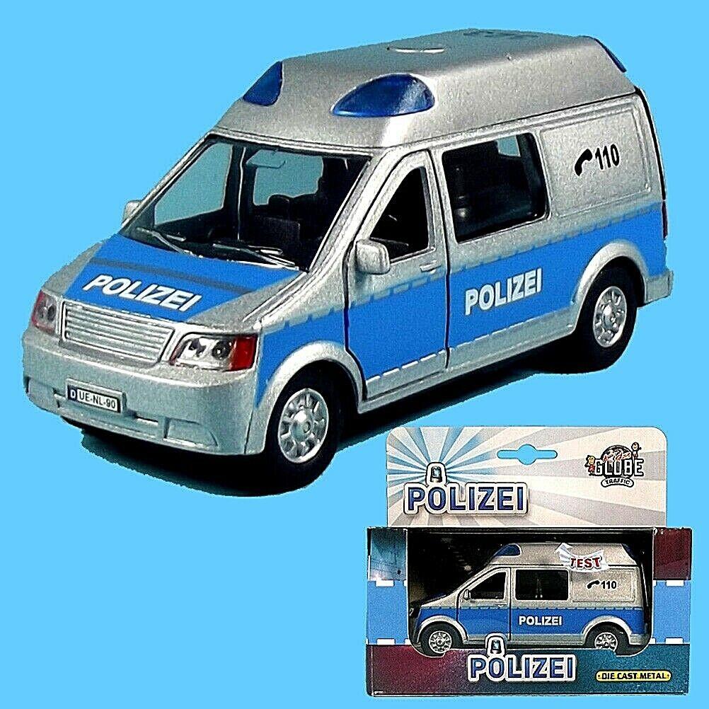 DIE CAST Polizei Fahrzeug, Sprinter, mit Licht und Sound