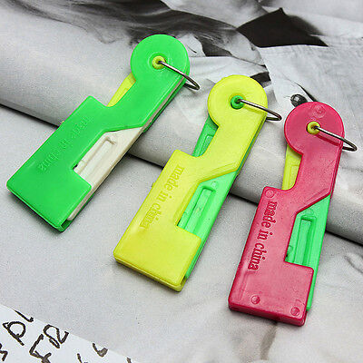 3Pcs Automatic Needle Threader Thread Guide Elderly Use Device Sewing Tool VvV - $4.76