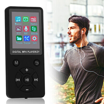 Mini MP4 Media Player LCD Bildschirm Unterstützt 32G TF-Karte mit UKW-Radio