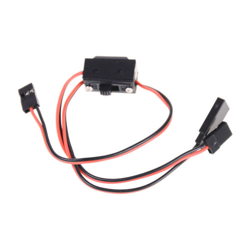 3 Way Power On/Off Switch With JR Receiver Cord For RC Boat
