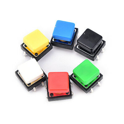 20pcs Tactile Push Button Switch Momentary Micro Switch Button With Tacasc