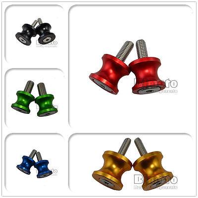 8mm Swing Arm Spools - 8mm Motorcycle CNC Swing Arm Spool Slider For Kawasaki Z900 Z800 ZX10R ZX6R