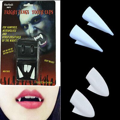 Zahnersatz Zombie Vampir Zähne Ghost Devil Zähne Halloween Prop Kostüm Party (Party Ghost Kostüm)