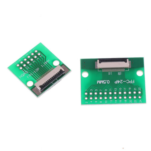 Hot 12 Pin 0.5mm FFC FPC to 12P DIP 2.54mm PCB Converter Board Adapter Nisa