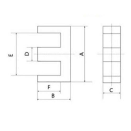 5set PC40 EE25 5+5pins Ferrite Cores bobbin transformer core inductor coil  X