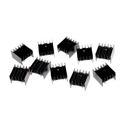 10pcs 252316mm To220 Transistor Aluminum Radiator Heat Sink With 2k0