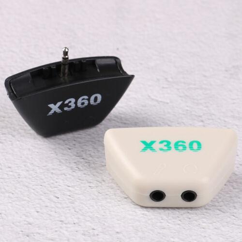 Earphone headset headphone mic audio converter adapter contr