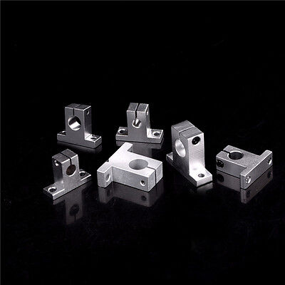 3pc Sk8-20 Bearing Linear Rail Shaft Support Xyz Table Cnc Router L Fm
