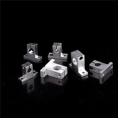 3pc Sk8-20 Bearing Linear Rail Shaft Support Xyz Table Cnc Router Gx