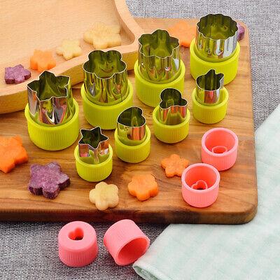 8 stücke Edelstahl Blume Form Reis Gemüse Obst Cutter Mould Slicer CBL Slicer